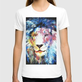 Colorful African Lion T-shirt