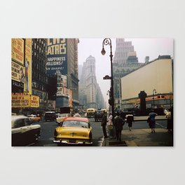 Times Square, 1957 Canvas Print