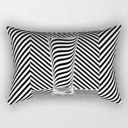 Striped Water Rectangular Pillow