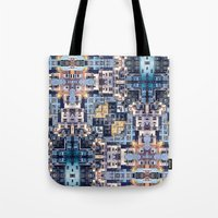 community Tote Bags featuring Community of Cubicles by Phil Perkins