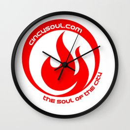 CincySoul Wall Clock