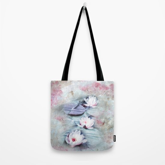 SUMMER LILY POND Tote Bag