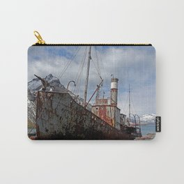 Whaling Ship Carry-All Pouch