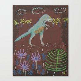 Prehistoric Friend Canvas Print