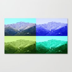 Snowfalls Canvas Print