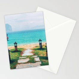 Doors to paradise Stationery Cards