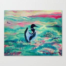 Loon Cry Canvas Print