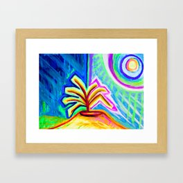 Subliminal Light Framed Art Print