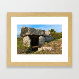 Le Trepied Dolmen Framed Art Print