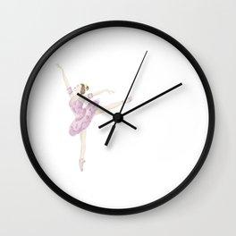 Sugar Plumb Ballerina Wall Clock