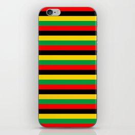 Biafra Mozambique Zambia flag stripes iPhone Skin
