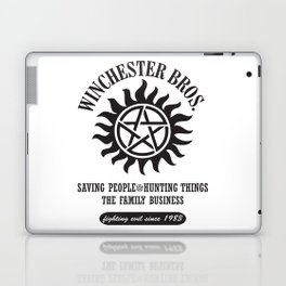SUPERNATURAL WINCHESTER BROTHERS DEAN AND SAM Laptop & iPad Skin
