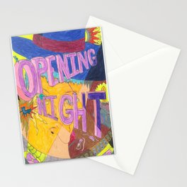 Opening Night Stationery Cards