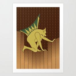 The Great Gargoyle Art Print