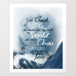 Always - Tower of Dawn Quote Art Print