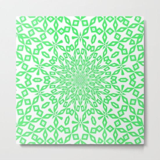 Green... Metal Print