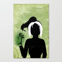 rogue Canvas Prints featuring Rogue by Sprite
