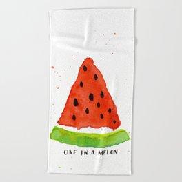 One in a melon Beach Towel