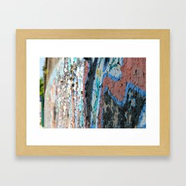 Graffiti VI Framed Art Print