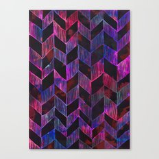 PATTERN {Chevron 014} Canvas Print