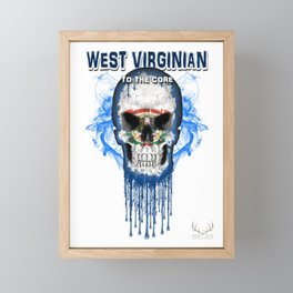 To The Core Collection: West Virginia Framed Mini Art Print