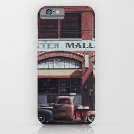 Vintage Pickup iPhone Case