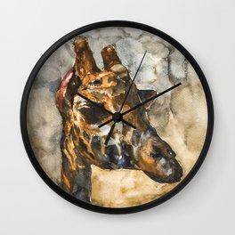 GIRAFFE#1 Wall Clock
