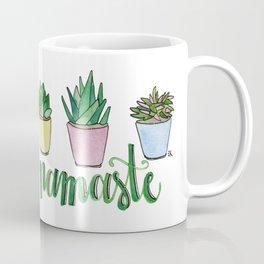 Namaste Succulents by Eileen Graphics Coffee Mug