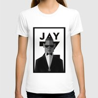 jay z T-shirts featuring JAY-Z by olivier silven
