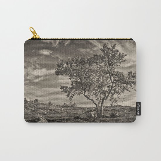 A tree in the mountains Carry-All Pouch