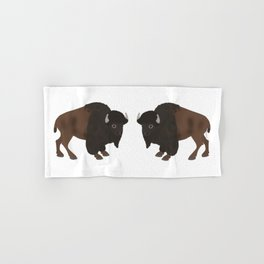 Bison Hand & Bath Towel