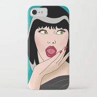 comics iPhone & iPod Cases featuring comics  by mark ashkenazi