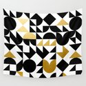 geometric black & gold by mtie