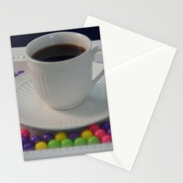 Coffee and candy Stationery Cards
