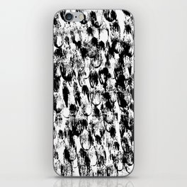 Black Pattern#3 iPhone Skin