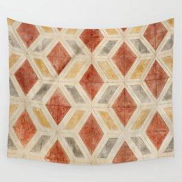 Rombos rojos Wall Tapestry