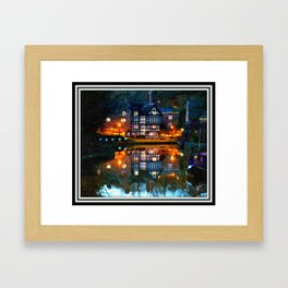 The Package House Framed Art Print
