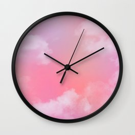 Pastel Sky Wall Clock