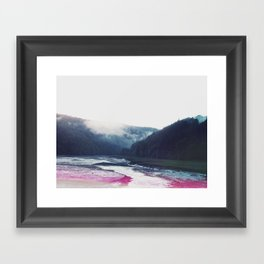 Low Tide in the Valley Framed Art Print