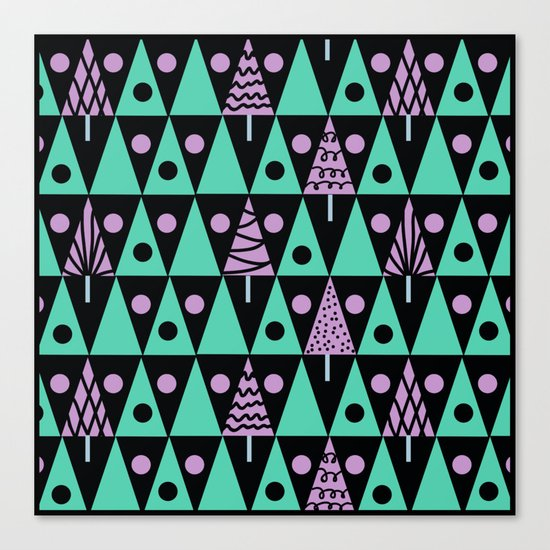 Christmas pattern . Canvas Print