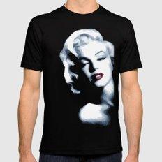 Marilyn_Monroe Mens Fitted Tee Black MEDIUM