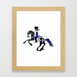 The Queen of Spades - The Horseman Framed Art Print