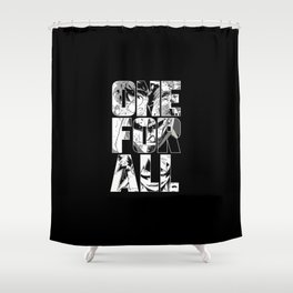 One for All (Boku no Hero Academia) Shower Curtain