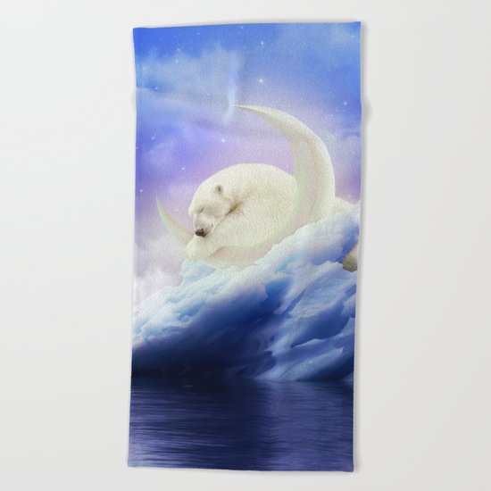 Guard Your Heart. Protect Your Dreams. Beach Towel
