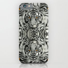 TIGER PAW-TRAIT iPhone Case