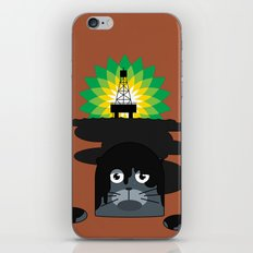 BP Oil Attack iPhone & iPod Skin