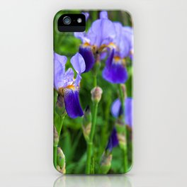 Iris Parade iPhone Case