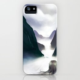 Cloud Valley iPhone Case