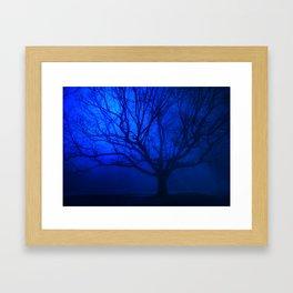 Twilight Blues Framed Art Print