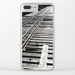Forgotten Bridge Clear iPhone Case